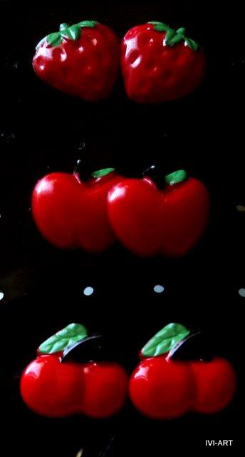 Kolczyki Owoce