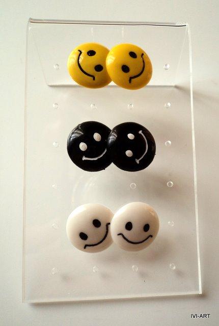 Kolczyki Smile
