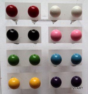 Kolczyki Małe kulki (5mm)